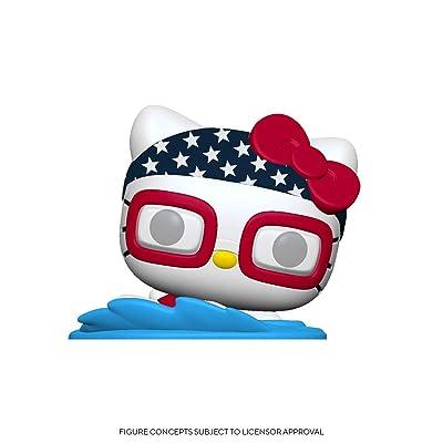 Funko Pop! Sanrio: Hello Kitty Sports - Swimming Hello Kitty, Multicolor, Model:48692: Toys & Games