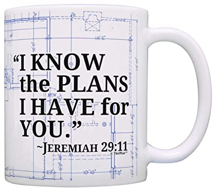 Amazon bible verse gift i know the plans i have for you bible verse gift i know the plans i have for you jeremiah 2911 gift malvernweather Gallery