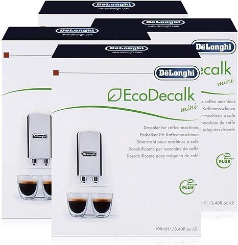 Descalcificador DeLonghi EcoDecalk. 4 paquetes de 2 unidades de ...