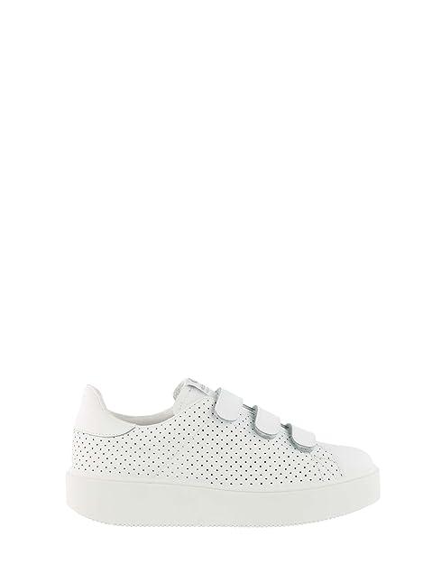 1260104 es Blanco Zapatos 38 Y Amazon Victoria Mujeres URqwUd