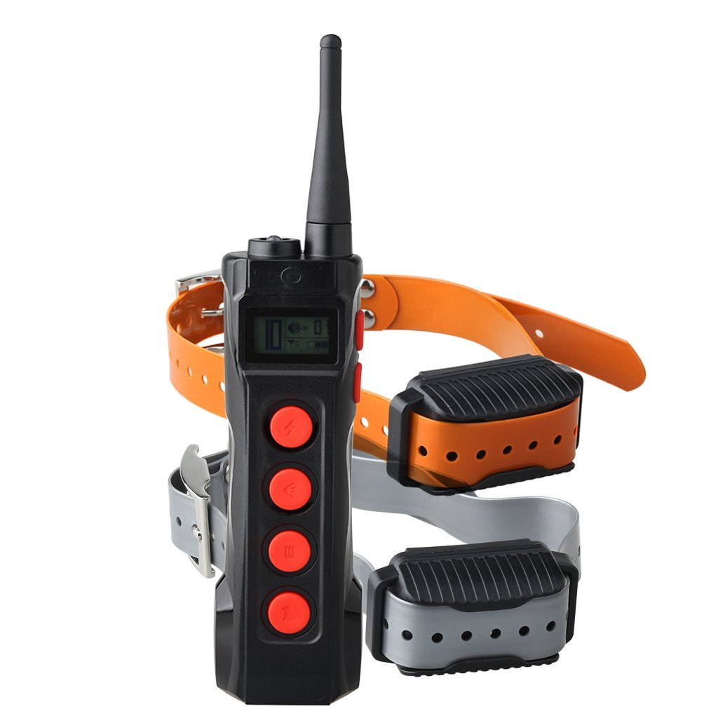 Aetertek High End Electric Remote Pet Dog Shock Collar Training Auto Anti Bark Control 1000M Remote Range by Aetertek