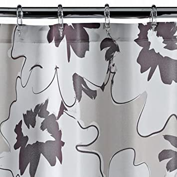 Curtains Ideas apt 9 shower curtain : Amazon.com: Apt 9 Brown Floral Fabric Shower Curtain Pretty Flower ...