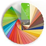 Color Swatch Fan True Spring with 35 Colors for Color Analysis and Image Consulting