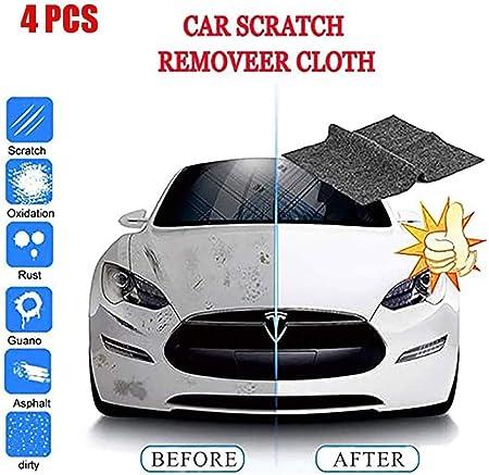 Surfilter 6pcs Nano Magic Autokratzerentferner Kratzreparatur Poliertuch Autooberfläche Leichte Kratzreparatur Für Autopflege Schönheit 4 StÜcke Auto