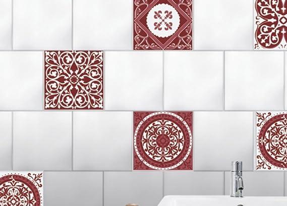 Plage smooth u tiles piastrelle sticker cemento piastrelle