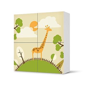 Möbeltattoo Für IKEA Besta Schrank Quadratisch 4 Türen | Tattoo Dekoration  Möbel Folie Sticker |