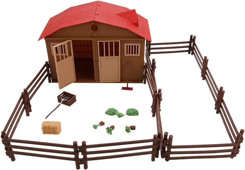 ファームハウスモデル、子供用ファーム玩具アクセサリー