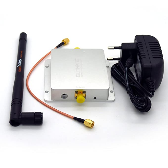 Amazon.com: Sunhans Sh24gi4000 Wifi Signal Booster 4000mw 2.4ghz 36dbm Wifi Signal Repeater FPV UAV Drones: Computers & Accessories