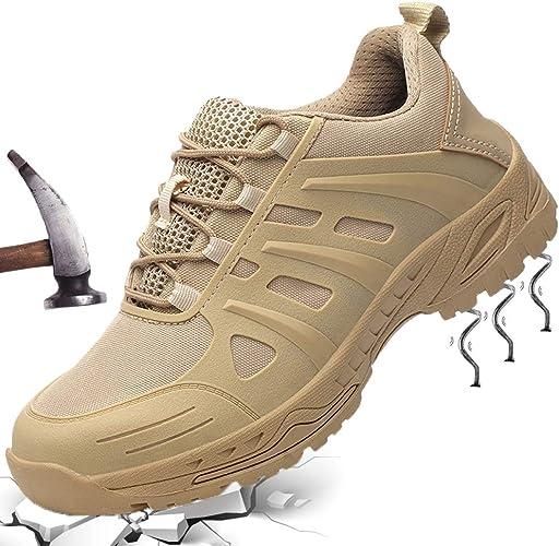 populalar Chaussures de Sécurité Homme Femme Embout Acier