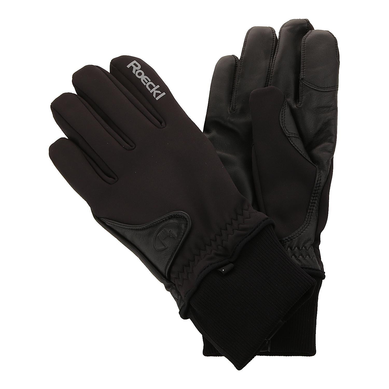 Roeckl Kangto Winter Fahrrad Handschuhe lang schwarz