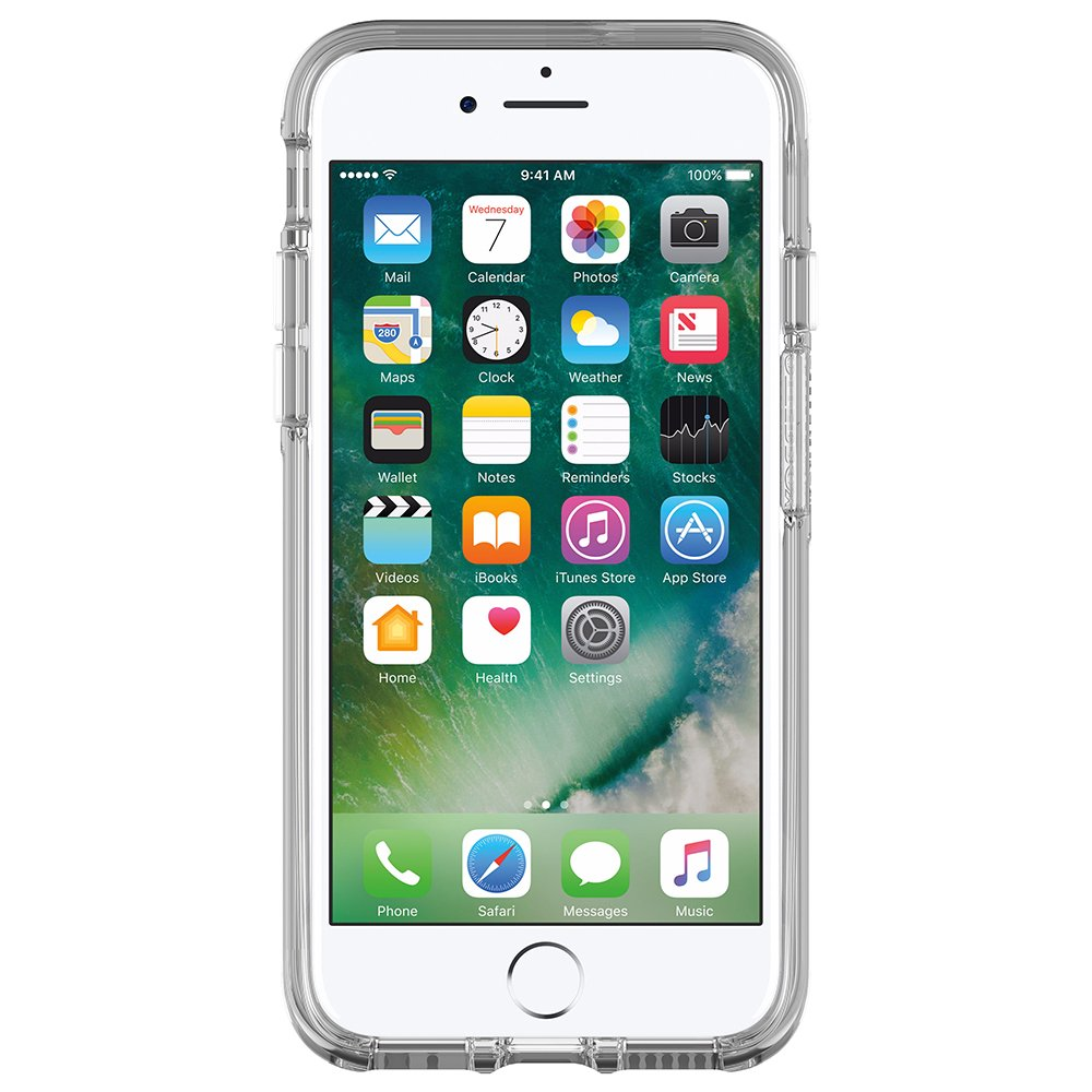 OtterBox SYMMETRY CLEAR SERIES Case for iPhone 8/7 (ONLY) - Retail Packaging - CLEAR (CLEAR/CLEAR) by OtterBox (Image #3)