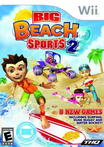 Big Beach Sports 2 - Nintendo - Big Sports Wii Beach