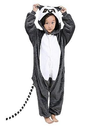 Tiger Kostum Kinder Babies Kleinkinder Tier Onesie Jumpsuit Karneval