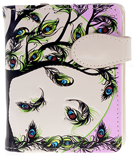 Shagwear Womens Wallets Feathers Designs