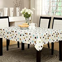 ENNAS Vinyl Tablecloth Rectangle Plastic Tablecover Picnic Tablecloth Outdoor Tablecloth 47-Inch by 60-Inch