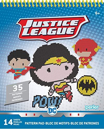 Chibi DC Justice League Perler Bead Pattern Pad, 35 Patterns