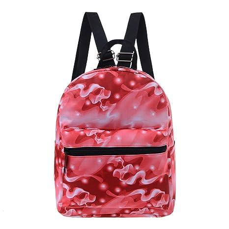 La Sra. dos bolsas de hombro camuflaje mochilas escolares de estudiantes de Oxford es simple