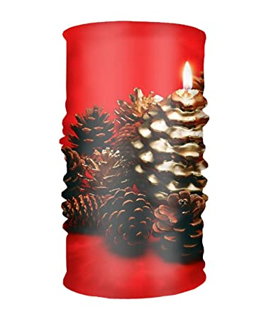 36da061353cd Amazon.com : Headband Holiday Christmas Decoration Red Pine Cone ...