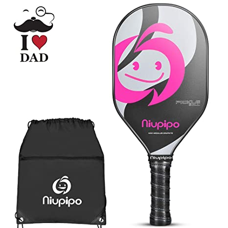 Pickleball Paddle, Composite Pickleball Racket, Polyproylene Honeycomb Core, Ultra Cushion 4.5 In Grip 7.58oz Lightweight Pickleball paddles for ...