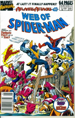 Web of Spider-Man Annual #5 : War Zone New York (Atlantis Attacks - Marvel Comics) -