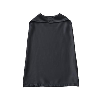 RABBIT SKINS Toddler 100% Satin Polyester Reversible Cape, Black, One Size: Clothing [5Bkhe1404288]