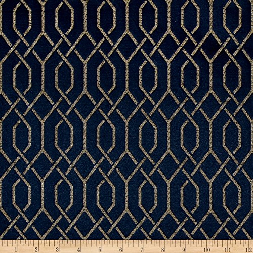 - Eroica 0535014 Soprano Jacquard Ocean Fabric by The Yard,