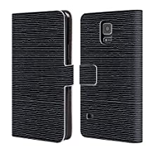 Official Tobe Fonseca Lines Patterns 2 Leather Book Wallet Case Cover For Samsung Galaxy Note5 / Note 5