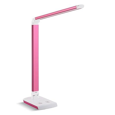 DECKEY 10W LED Lámpara de Escritorio Lámpara de Mesa Lámpara de Mesa Regulable Lámpara de Oficina Giratoria Lámpara de Lectura Lámpara de Libro ...
