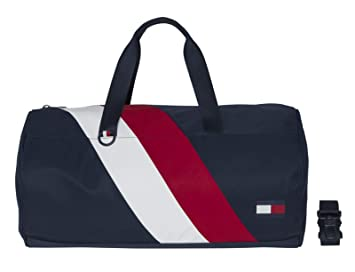 9c557a804e Image Unavailable. Image not available for. Color: Tommy Hilfiger Chevron  Duffle Bag ...