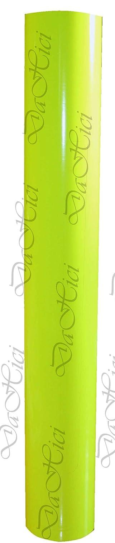 selbstklebende Autofolie mit Auffallgarantie Oracal Fluorescent 6510 Neon Gelb 1mx20cm