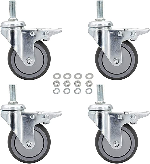 Top 10 Office Chair Caster Wheels With 12Mm Stem