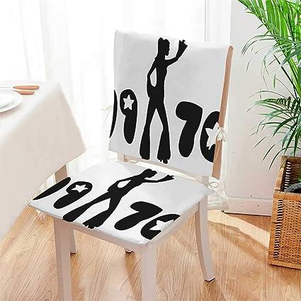 Amazon.com: Mikihome Juego de 2 piezas de sillas decorativas ...