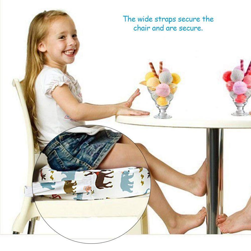 Kleinkind Kind zerlegbar Erh/öhung Esszimmerstuhl Pad waschbar dicken Hochstuhl Booster Kissen Mat Baby Booster Sitzkissen Platz
