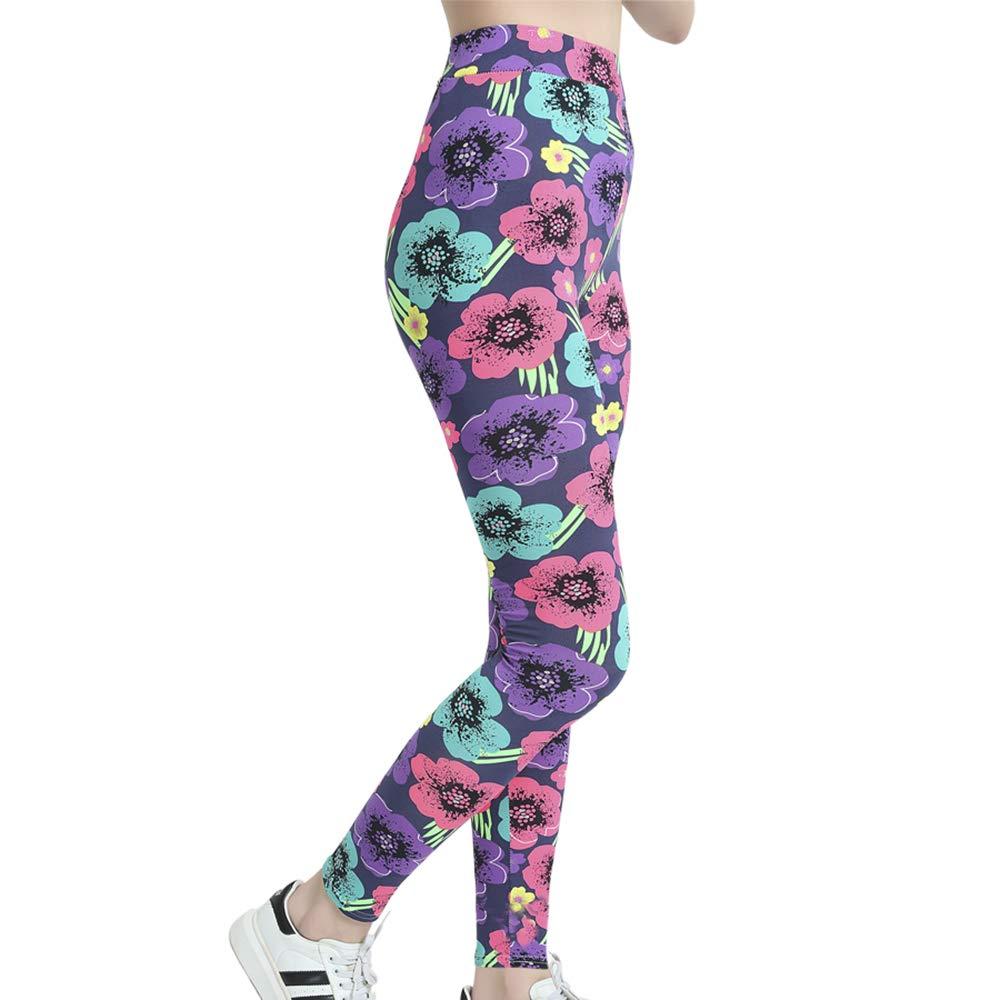 LiPa Tova Womens Leggings Soft Stretchy Ankle Length Yoga Pants (U-S)
