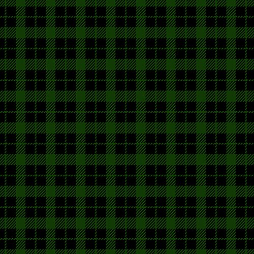 Mad for Plaid Flannel Mini Check Green Fabric By The - Fabric Green Plaid