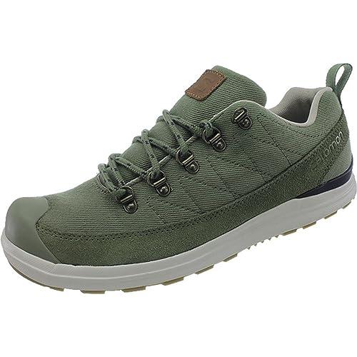 Salomon XA Pro Mid GTX Zapatillas de trekking y senderismo Hombre, color Verde, talla 46: Amazon.es: Zapatos y complementos