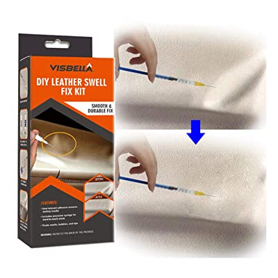 Visbella DIY Leather Repair,Headliner Spot Fix Kit, Repair Saggy Baggy Torn Loose Leather: Automotive [5Bkhe0407000]