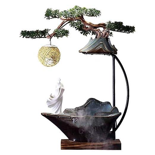 Fuente de interior Zen-como la decoración de cerámica de agua que ...