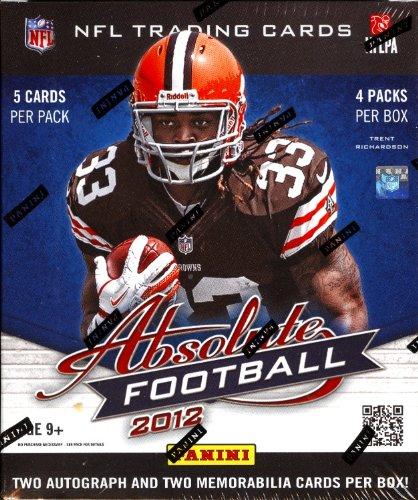 2012 Panini Absolute Memorabilia Football box (4 pk HOBBY) ()