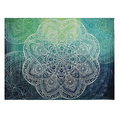 [Infinal Tapestry Elephant Mandala Bohemian Wall Hanging Sofa Cover Beach Blanket Wall Art Decor] (Sunset Traditional Hand Shower)