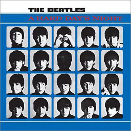 The Beatles Sticker Adhesive Decal - Hard Day's Night (4 x 4 inches)
