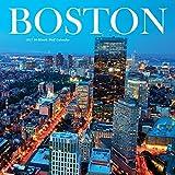 2017 Monthly Wall Calendar - Boston Massachusetts