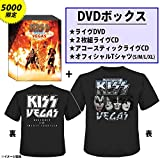 KISS Kiss Rocks Vegas Ltd 3Cd Dvd T-Shirt Booklet  One Pressing Only