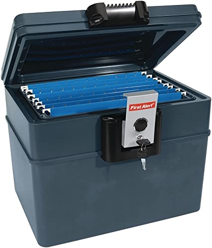 First Alert Waterproof Fire Resistant File Chest, 0.62 cu ft capacity 2037F
