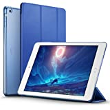iPad Air Case, ESR® iPad Air Smart Case Cover Ultra Slim Synthetic Leather and Translucent Frosted Back Magnetic Cover with Auto Wake & Sleep Function [Light Weight] for Apple iPad Air / iPad 5 Case (Navy Blue)