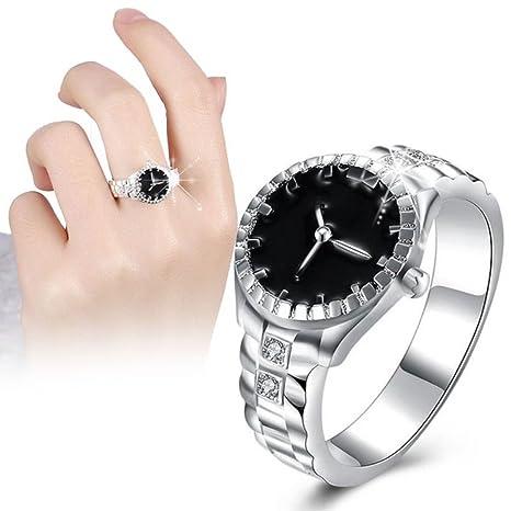 l'atteggiamento migliore 08a5a 447e0 XDLiu creativo orologio al quarzo unisex argento placcato ...