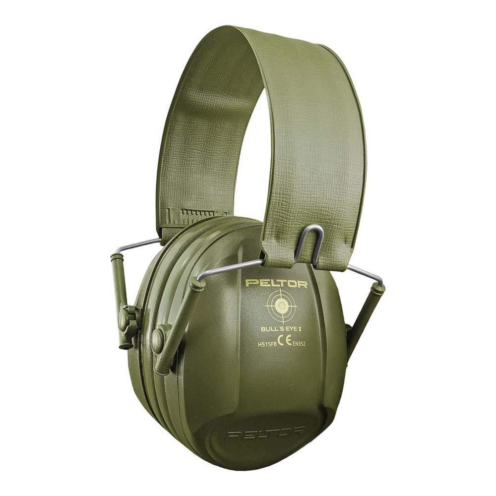 Orejeras de seguridad para Tiro 3M PELTOR Bull's Eye I, 27 dB, plegables, verdes, H515FB-516-GN