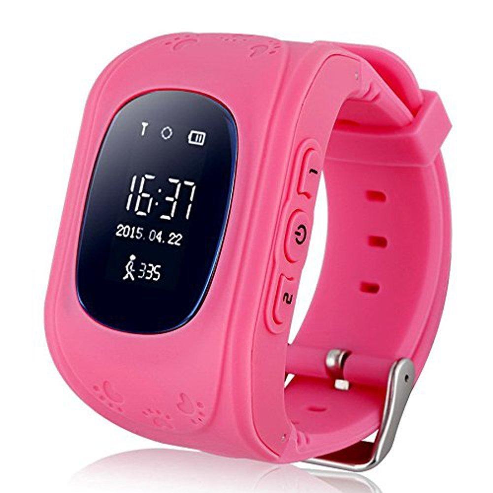 Jsbaby Kids Smart Watch for Children Girls Boys Digital Watch with Anti-Lost SOS Button GPS Tracker Smartwatch Great Gift for Children Pedometer Smart ...