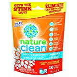 Nature Clean Odor Remover Packs for Laundry, 10 Count