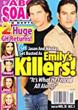Steve Burton and Tyler Christopher (General Hospital), Catherine Hickland, Daytime's Unlikely Couples - December 4, 2007 ABC Soaps in Depth Magazine [SOAP OPERA]
